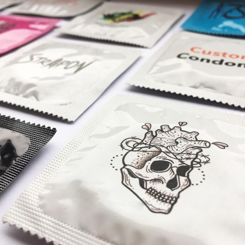 Printed Condoms